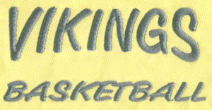 Letter_3 embroidery digitizing sample