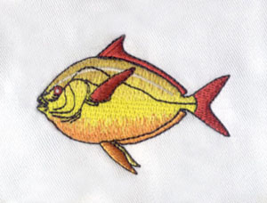 Flat_4 embroidery digitizing sample